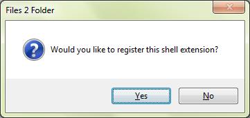 Files2Folder installation